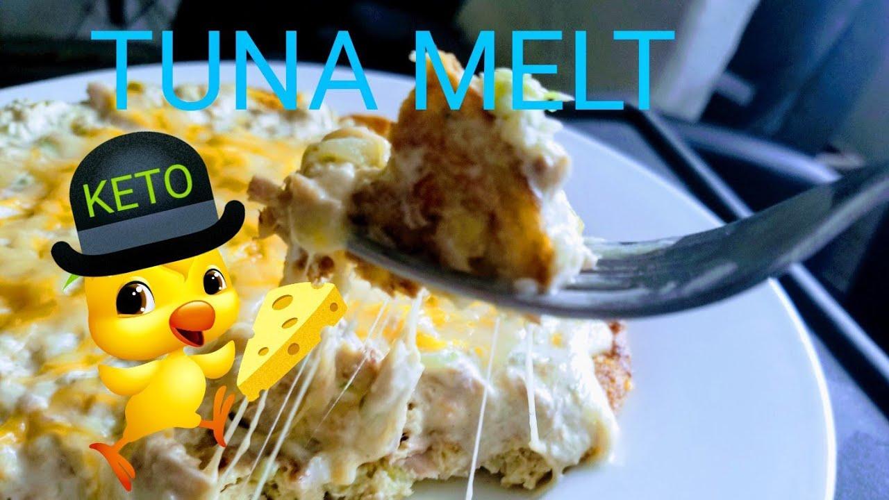 Ketogenic Diet Tuna Melt Crazy Goood Youtube