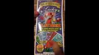 LUCKY 7s PLAYBOOK NY lotterry ticket #2
