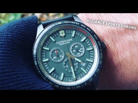 b454d4d7953 Victorinox Alliance Sports Chronograph Watch Review - 2018 - YouTube
