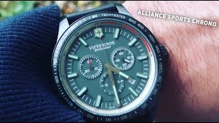 Victorinox Alliance Sports Chronograph Watch Review - 2018