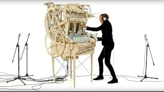 The Wintergatan Marble Machine is a wacky, whimsical musical instrument  (Tomorrow Daily 324)