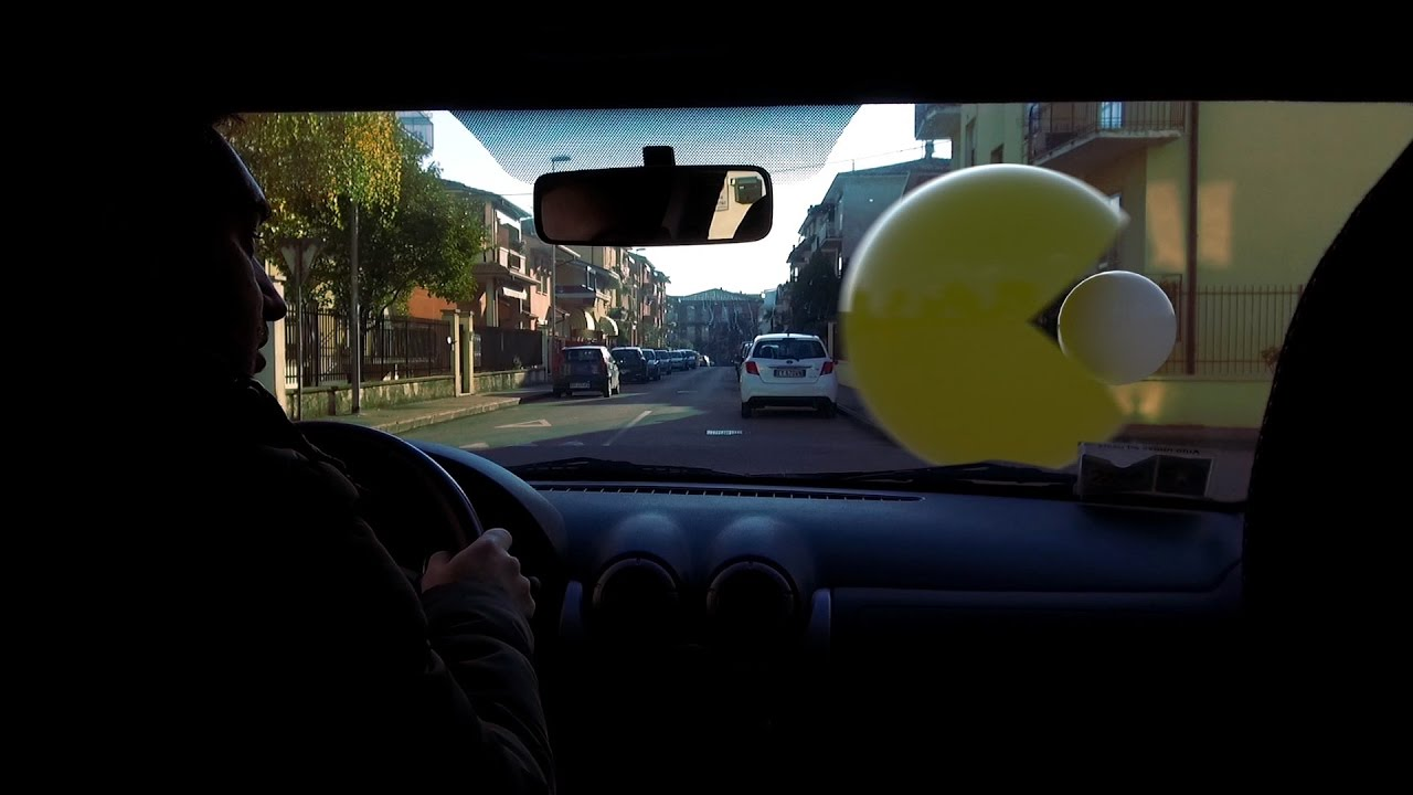 Pac Man In Real Life Youtube