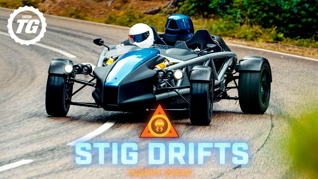 STIG DRIFTS: Ariel Atom 4; 320bhp & 595kg | Top Gear