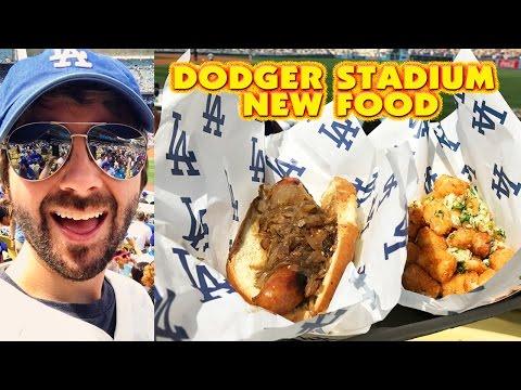 DODGER STADIUM NEW FOOD Taste Test!