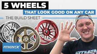 Cover images 5 Wheels That Look Good On Any Car   The Build Sheet