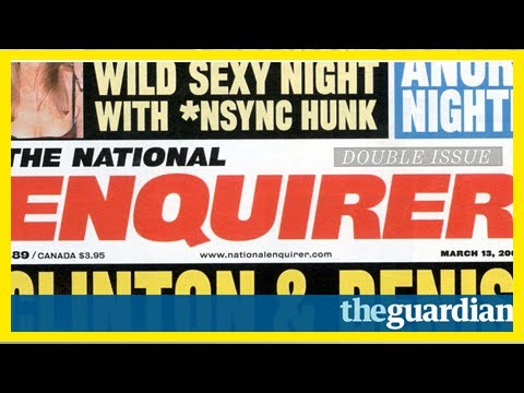 Daily News - National enquirer boss accused of harassing female staff ually