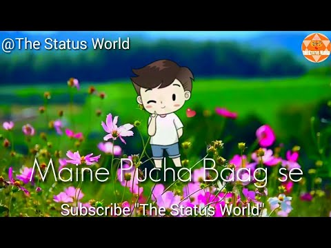 Maine Pucha Chand se || Cute Romantic Whatsapp status ||