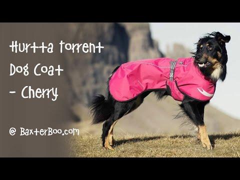 Hurtta Torrent Dog Coat - Cherry