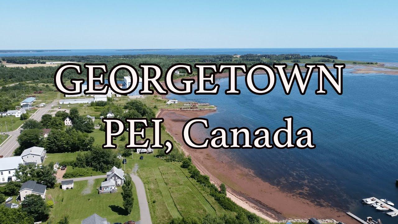 Esta lugar solo tiene 500 habitantes, Georgetown PEI