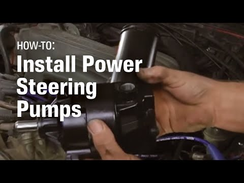 How to Install the Power Steering Pump - AutoZone Car Care - YouTube