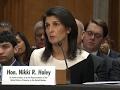 Nikki Haley supports moving US embassy to Jerusalem