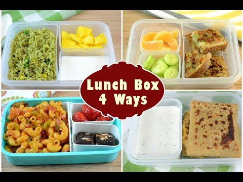 Indian Lunch Box Ideas | Kids Lunch Box Recipes | Quick Lunch Box