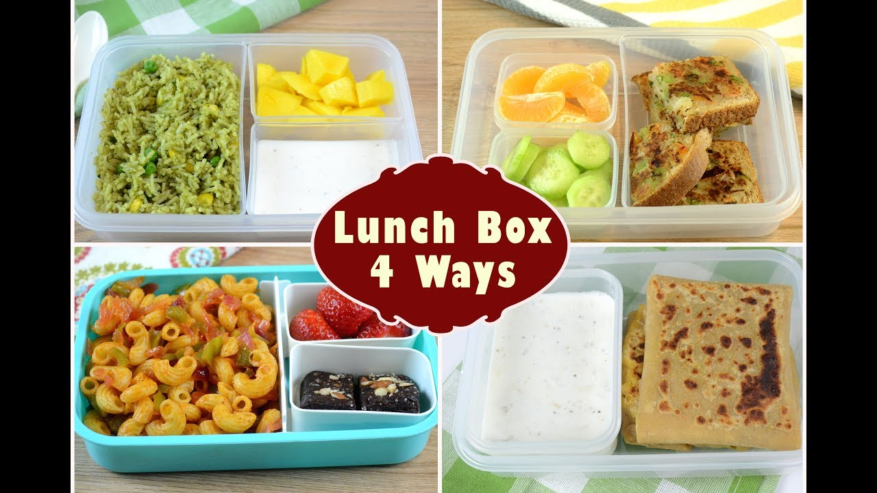 Indian Lunch Box Ideas - Part 2 | Kids Lunch Box Recipes ...