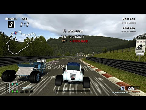 [#1544] Gran Turismo 4 - No Title PS2 Gameplay HD