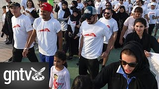 Roads and Transport Authority walks the talk with 'Walk for Good, Make a Difference' campaign