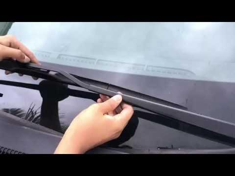 Honda Windshield Wiper Blade Replacement DIY