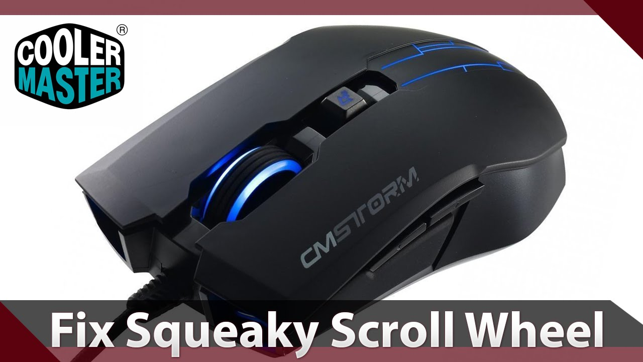 how to remove and clean mouse wheel