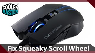 How To: Fix Squeaky Scroll Wheel on Cooler Master Devastator mouse