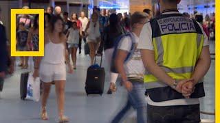 أمن المطارات: مدريد: كرنفال الممنوعات   ناشونال جيوغرافيك أبوظبي