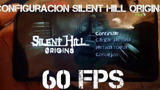 Silent hill origins ppsspp configuración android