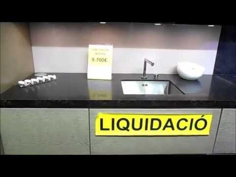 Outlet cocinas lujo liquidacion en Barcelona Eixample - YouTube