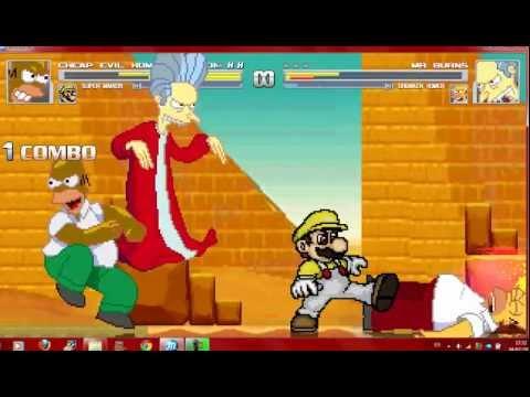 Mugen Random 2V2 Battle