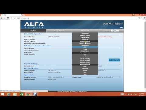 How to update Alfa R36 firmware (video tutorial)