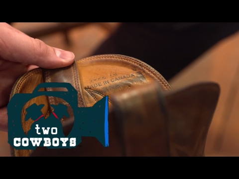 Two Cowboys: How to Fill Big Shoes and Take Care of Your Boots at Alberta Boot Company in Calgary