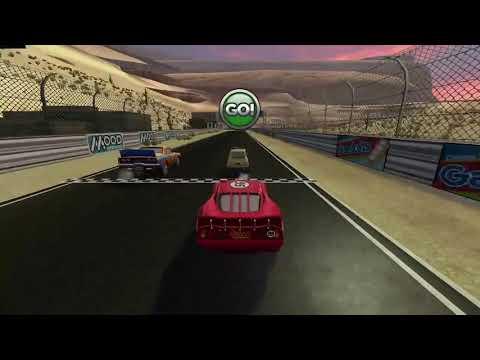 Cars Mater National   Lightning McQueen - Stadium Race 1  