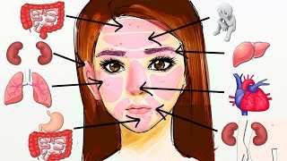 What Your Acne Is Trying to Tell You About Your Health - Face Mapping