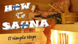 How to Sauna – 11 simple steps