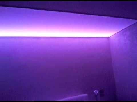 Led rgb camera da letto.GEMAIMPIANTI - YouTube