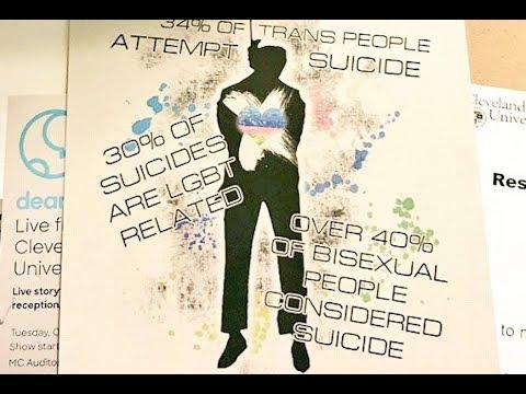 Campus Flyers Encourage LGBTQ Suicides