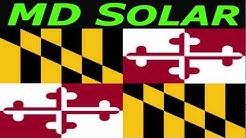 Maryland Solar Panels in Maryland Solar