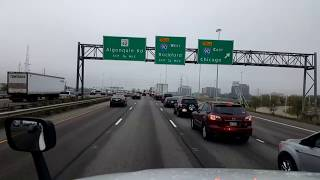 Gambar cover BigRigTravels LIVE! Bensenville to Belvidere, Illinois Interstate 290 & 90-Oct. 6, 2017