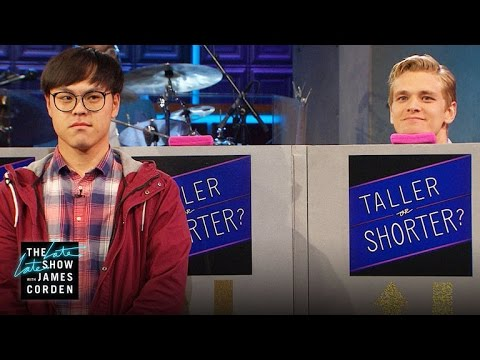 Taller or Shorter Game w/ Hayden Panettiere