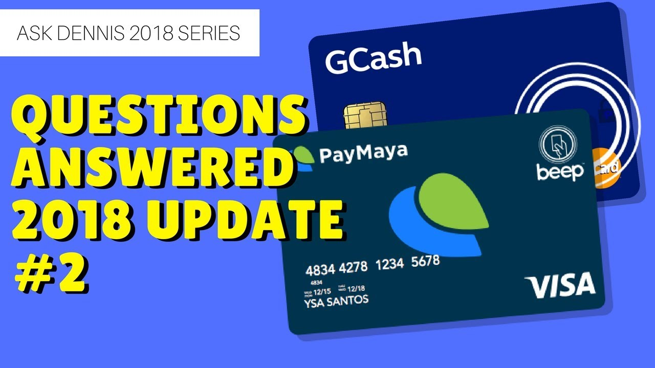 How to convert load to GCash, get GCash MasterCard | Winner Announcement  Ask Dennis #2 | Giveaway #2