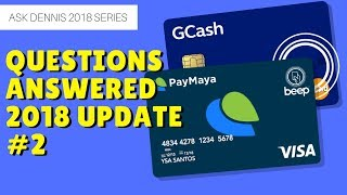 How to convert load to GCash, get GCash MasterCard   Winner Announcement Ask Dennis #2   Giveaway #2