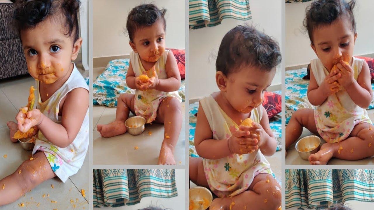 WHAT MY 11 MONTH OLD BABY EATS IN A DAY | HEALTHY MEAL ...