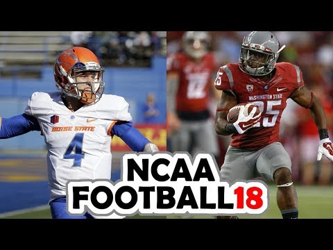 Boise State @ Washington State  9-9-17 NCAA Football 18 PRESEASON Simulation