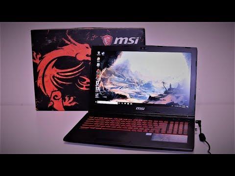 $1500 MSI Gaming Laptop: i7 CPU, 256 SSD, GTX 1050 Ti GPU
