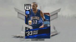 Sapphire Grant Hill Attributes! NBA2k17 MyTeam Best Collection Reward? Orlando Magic