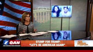 Diamond and Silk Interviewed By Gov. Sarah Palin