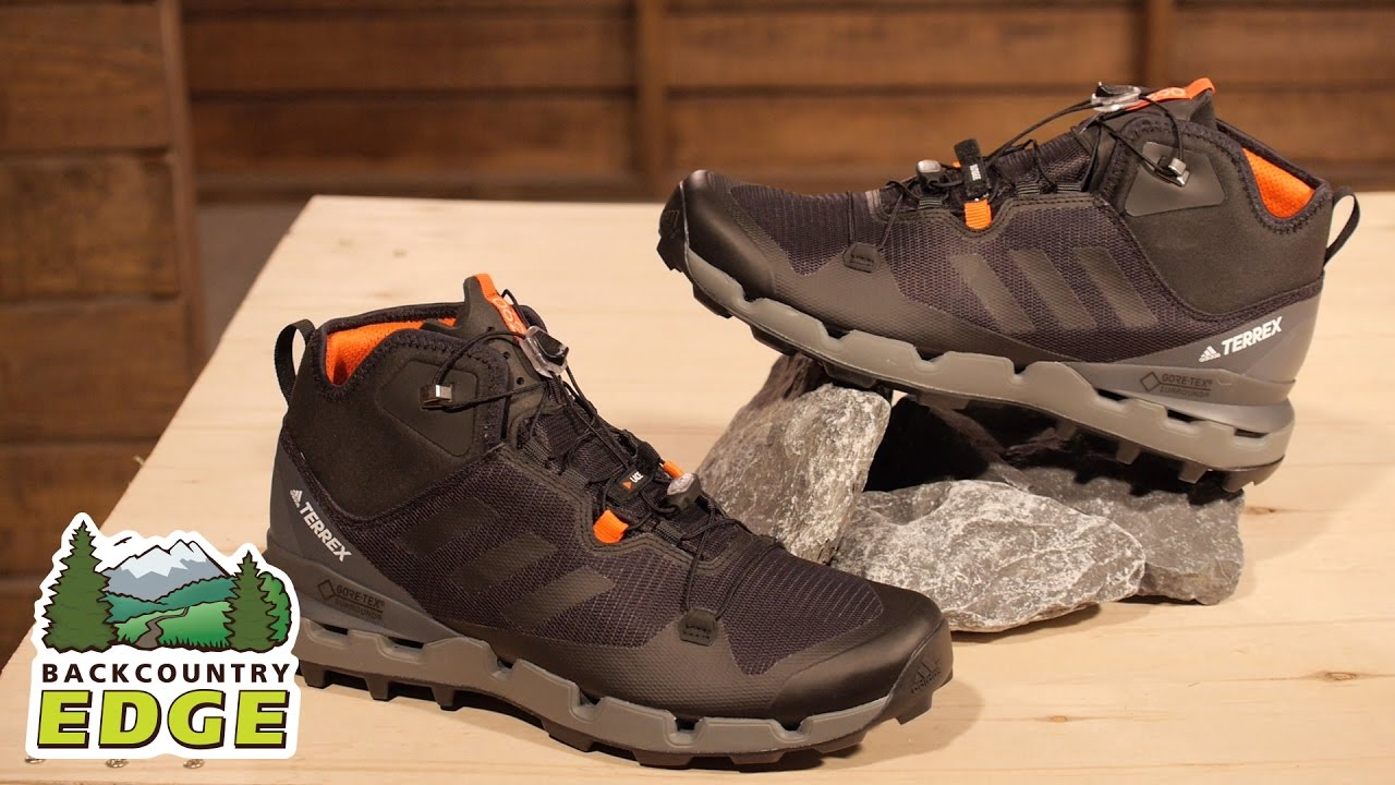 b8a674d612ed72 adidas Outdoor Men s Terrex Fast Mid GTX-Surround Hiking Boot - YouTube