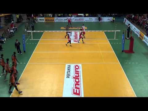 Paul Sanderson 2015 Indonesia ProLiga Match 2