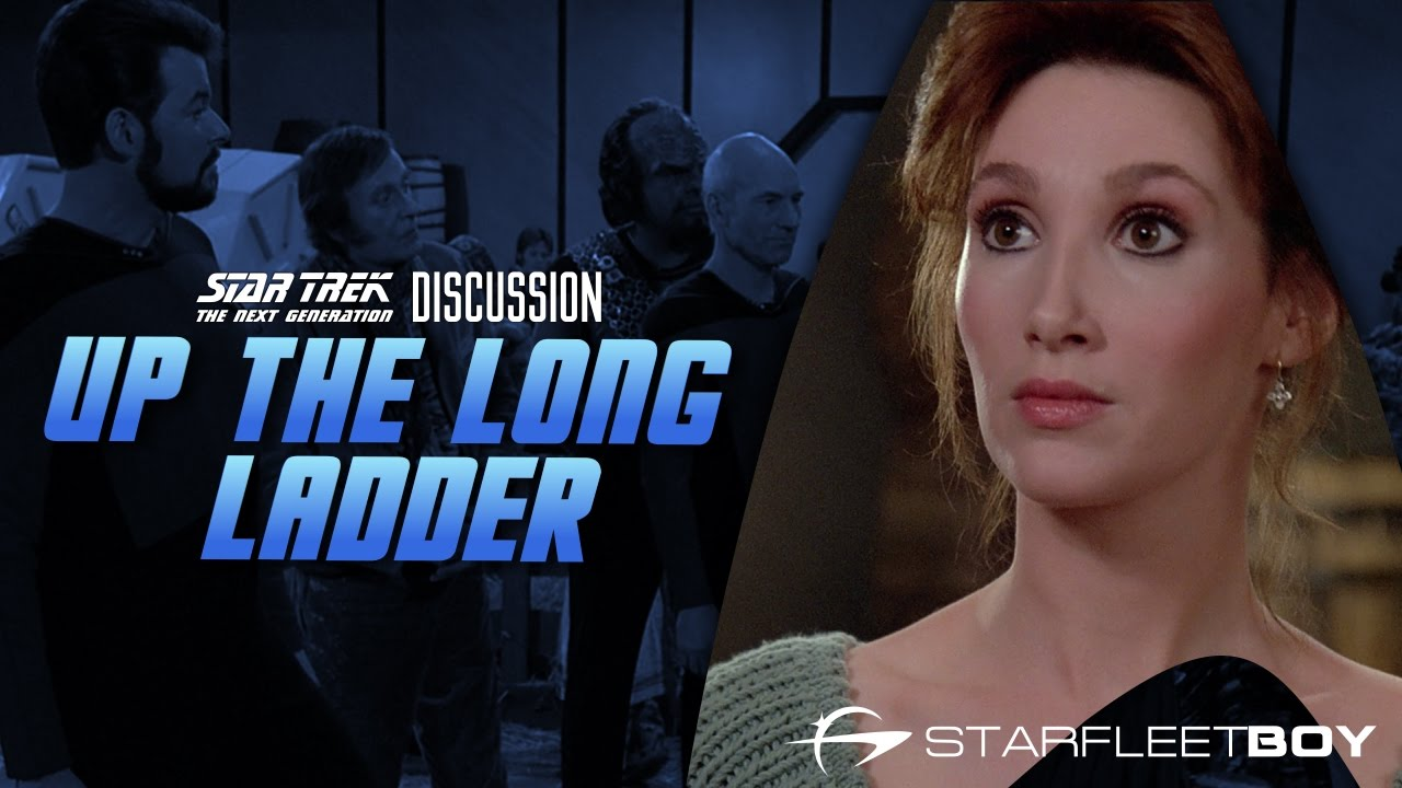 Image result for star trek Up the Long Ladder