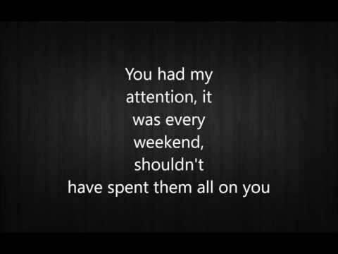 All On You - Nick Fradiani Lyric Video