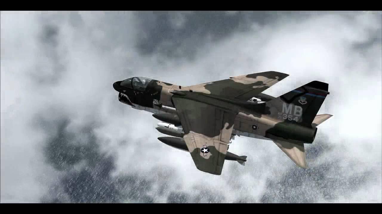 RAZBAM VOUGHT A-7D / A-7E CORSAIR II - YouTube