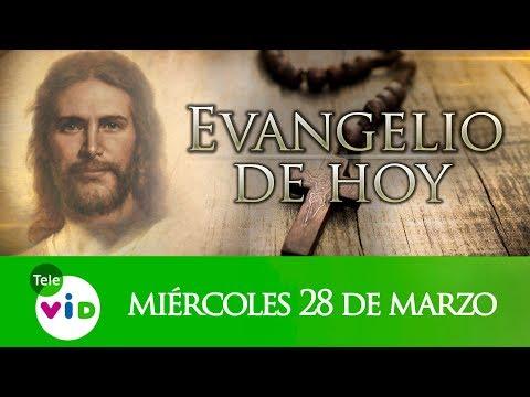 El Evangelio De Hoy Miércoles Santo 28 De Marzo De 2018, Lectio Divina Tele VID