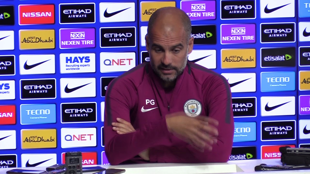 Guardiola defends Mendy over controversial tweet - YouTube